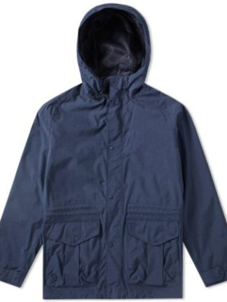 Heren Barbour Mull Jacket Navy