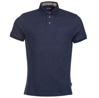 Heren Barbour Walden Polo Navy