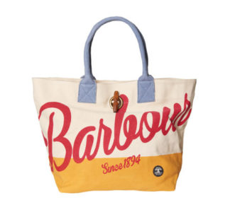 Dames Tas Barbour Shingle Shopper Red