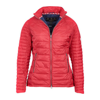 Dames Barbour Chock Quilt Red