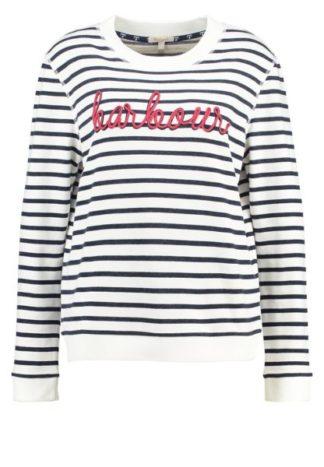 Dames Barbour Hollyhock Sweater Cloud/Navy