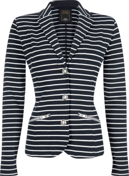 0401102916-NAVOPW-XL HVPOLO Blazer Lusia Navy-Optical White Dames