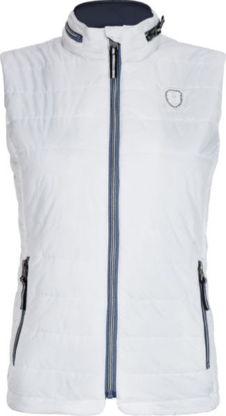 0405102905-OPTWIT-L Bodywarmer Mico Optical White HVPOLO