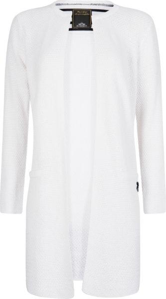 0401102933-OPTWIT-S HVPOLO Cardigan Diane Optical White Dames