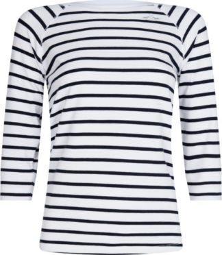 0403102912-OPWNAV-L HVPOLO Top Tenile Optical White-Navy Dames