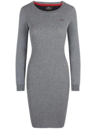 HVPolo Dames Gewatteerde jurk Ella Grey Melange