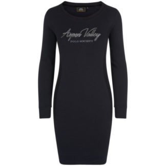 HVPolo Dames Sweat jurk Malena Black