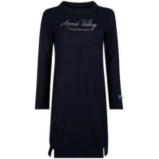 HVPolo Dames Sweat jurk Malena Navy Blauw