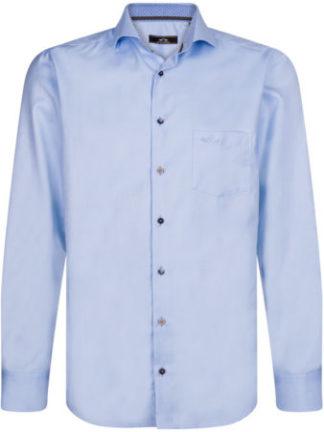 HVPolo Heren Lichtblauw Overhemd Colorado