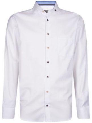 HVPolo Heren Wit Overhemd Colorado