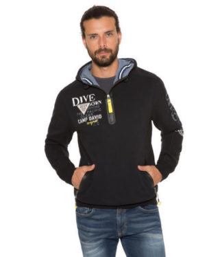 Camp David Deep Sea I sweatshirt with hood