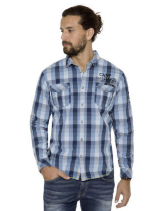 Camp David Deep Sea I shirt check regular fit