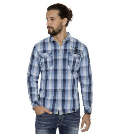 Camp David Deep Sea I shirt check regular fit