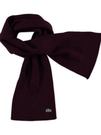 Rode Lacoste sjaal