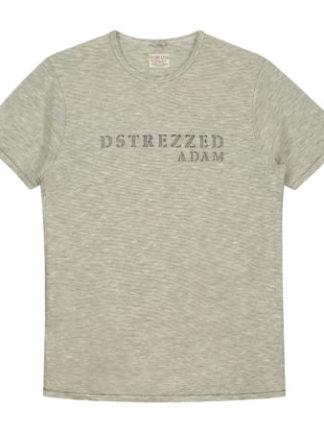 Dstrezzed Heren Basic round neck s/s Zig Zag stripe