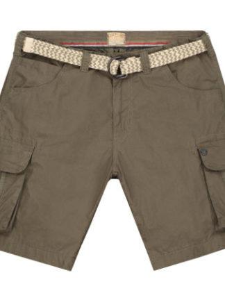 Dstrezzed Heren Combat shorts belt Mini Piede de Poule