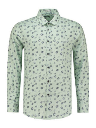 Dstrezzed Heren Shirt Linen Small Flower