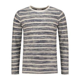 Dstrezzed Heren Crew Stoney Stripes Melange cotton