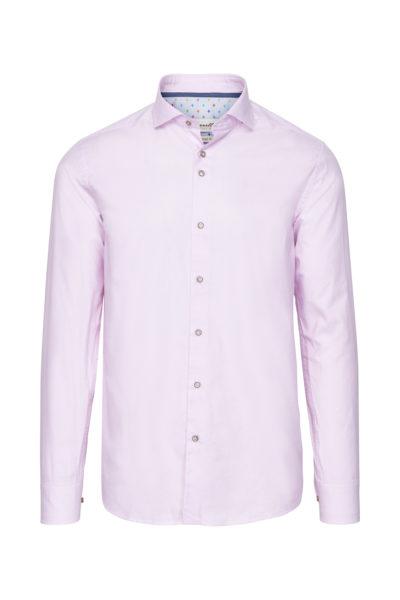 Roze Overhemd.Marnelli Sartoria Roze Overhemd Tailored Conor Hbd