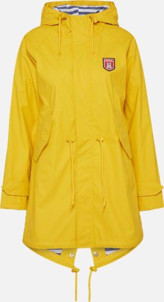 Dames Raincoat Travel Friese Striped Derbe