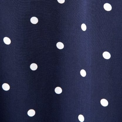 Dames Joules Blauw wit gestipte tuniek