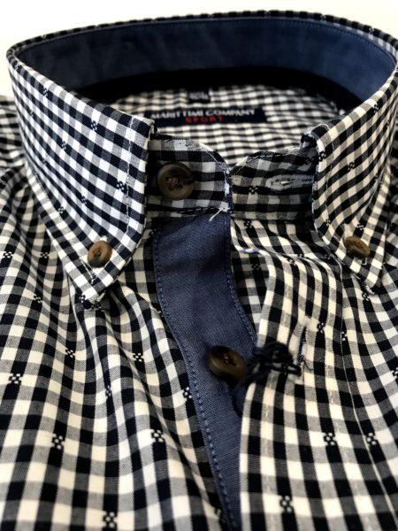 Korte Mouw Overhemd Mannen.Dessin Overhemd Korte Mouw Marittimi Company