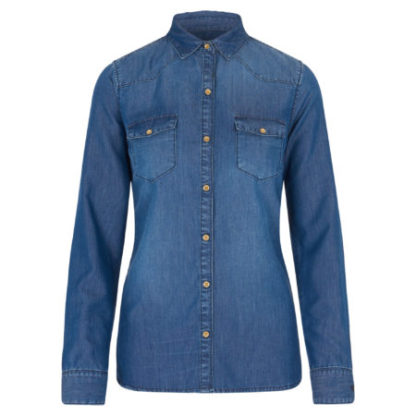HVPolo dames Denim blouse Ava