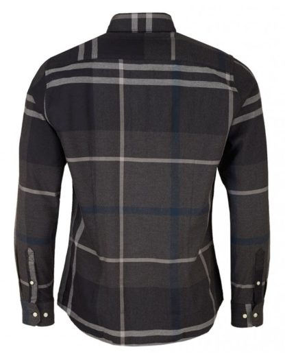 Barbour overhemd Dunoon Shirt Graphit heren