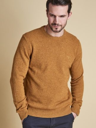 Barbour Tisbury pullover Crew Copper heren