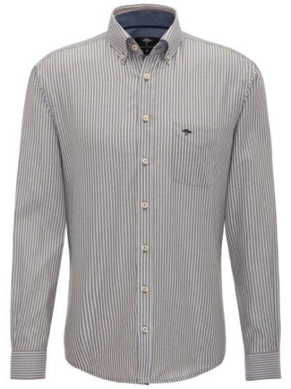 Fynch Hatton Winter Twill Stripe overhemd