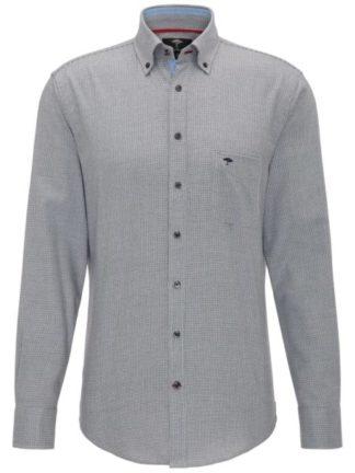 Fynch Hatton Soft Minimal Structure overhemd