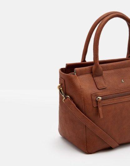 Joules dames Pu leather Handbag TAN