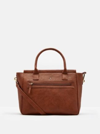 Joules dames Pu leather Handbag TAN