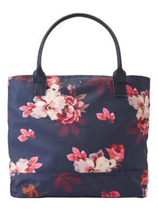 Joules dames Cariwell Coated Canvas Shopper Bag FNVBBLM