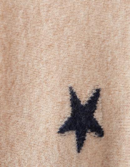 Joules dames Kellie Star Intarsia sweater NAVSTAR