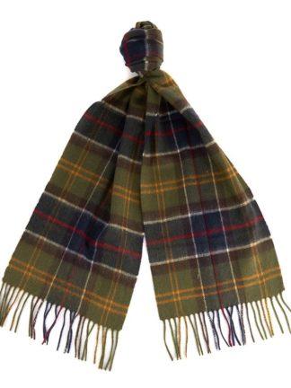 Barbour sjaal Merino Cashmer Classic heren