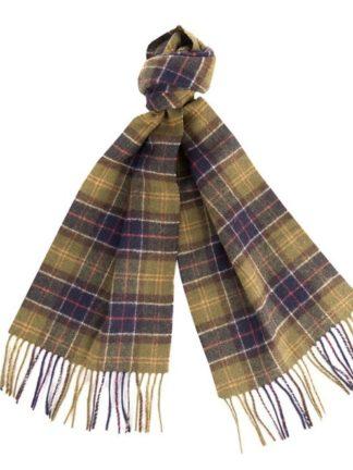 Barbour sjaal Tartan Lambswool Classic heren