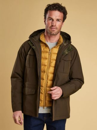 Barbour jas Whitstable Olive heren