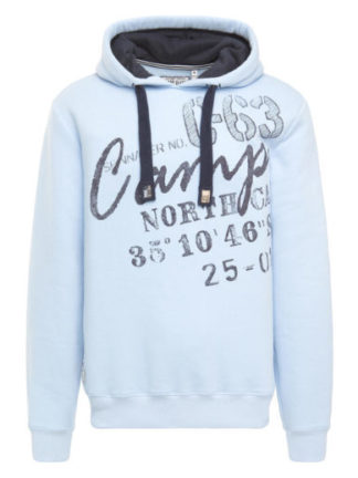 Camp David sweatshirt with hood Bay of Island II