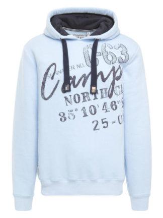 Camp David sweatshirt with hood Bay of Island II