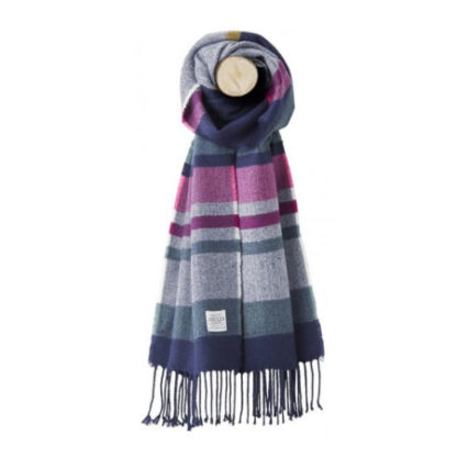 Joules dames Bracken Knitted Scarf sjaal FRNVSTP