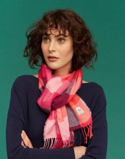 Joules dames Bracken Knitted Scarf sjaal BRTGING