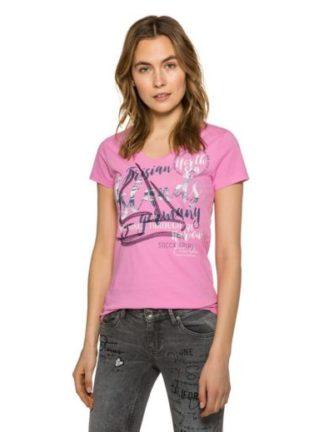 Soccx Roze dames t-shirt Norderney II