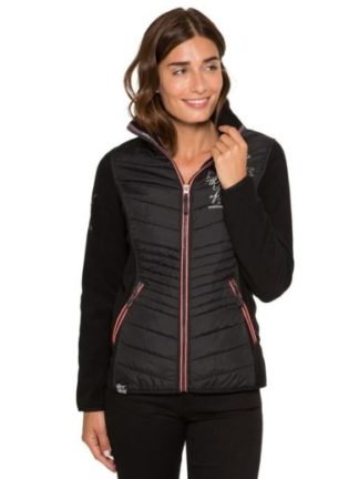Soccx Dames fleece jack Winter Lights