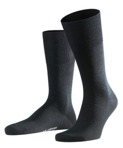 Falke black Airport heren sokken