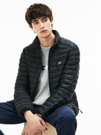 Lacoste Men s jacket donsjack zwart
