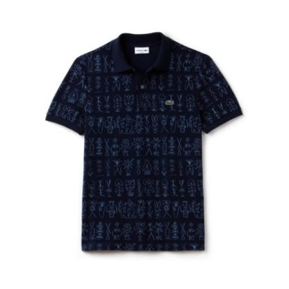 Lacoste Slim fit polo PH3231 NAVY BLUE/MEDWAY