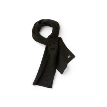 Lacoste Original Scarf sjaal zwart