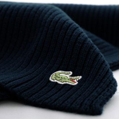 Lacoste Original Scarf sjaal donkerblauw