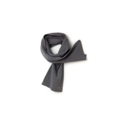 Lacoste Original Scarf sjaal grijs